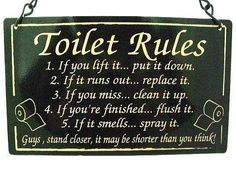 toilet rules funny quotes quote lol funny quote funny quotes humor
