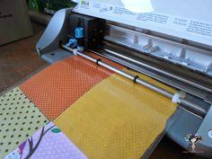 Cortar tecido na silhouette com contact