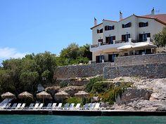 Kekrifalia Hotel in Agistri, Greece. Honeymoon 1998.