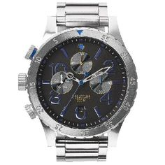 a15a0d505 Nixon Mens Nixon The 48-20 Chrono Watch - Midnight Gt Pacific Station  Collection:
