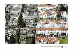 Fotokampagne: Mexikos soziale Kluft aus der Vogelperspektive - Gesellschaft - derStandard.at › Panorama