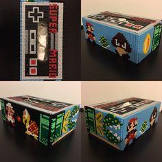 Ma boite à mouchoir Mario
