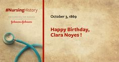 #OnThisDay in 1969, Clara Noyes, Head of the @American Red Cross Department of Nursing during #WWI was born. #JNJ