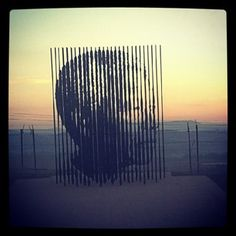 Incredible Nelson Mandela statue where he was captured in Howick, KwaZulu Natal Cycling Holiday, Kwazulu Natal, Nelson Mandela, Wind Turbine, South Africa, The Incredibles, Sculpture, Statue, Holidays