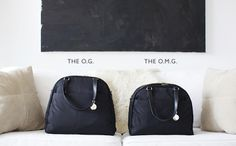 The O.G. - Women's Lightweight Travel Bag & Stylish Gym Bag - Lo & Sons