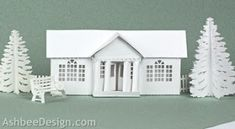 Ashbee Design Silhouette Projects: Ledge Village