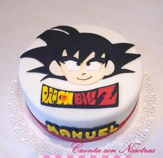 Torta Dragon Ball Z Dragon Ball Cake