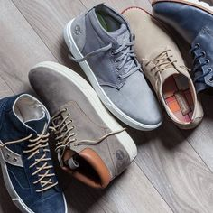 Timberland  http://www.timberland.com/shop/mens-new-arrivals/mens-adventure-cupsole-chukka-shoes-a12gq484