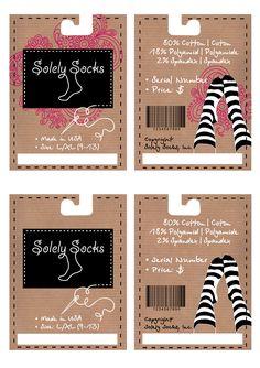 sock packaging - Google Search