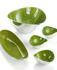 Simply Designz Serveware, Organic Lemongrass Collection