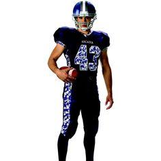 15 best Custom Sublimated Football Uniforms images on Pinterest ... 911407ef8