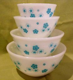 agee pyrex_turquoise blossom