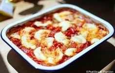 Gratin de légumes à la mozzarella