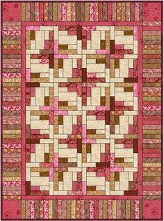 Bonnie Hunter quilt design.
