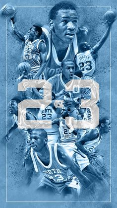 """""""Happy birthday to Tar Heel legend Michael Jordan. Michael Jordan North Carolina, Michael Jordan Unc, Michael Jordan Basketball, Usc Basketball, Basketball Posters, Basketball Pictures, Basketball History, Nba Pictures, Sports Posters"""