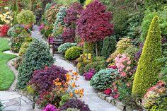 Path through the spring upper garden (22 May) by Four Seasons Garden, via Flickr