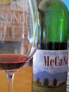 A nice Arizona table wine with a terrific menu!