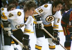 My two most favorite Boston Bruins of all time! Brad and Bobby.