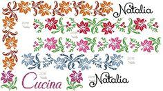 """Bordura+fiori+""""Gigli""""+-+per+strofinacci+da+cucina+o/+tovaglia++https://img-fotki.yandex.ru/get/5435..._4e3c4c20_orig"""