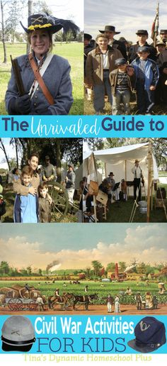 The Unrivaled Guide to Civil War Activities for Kids @ Tina's Dynamic Homeschool Plus