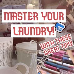 I am sharing 3 awesome LAUNDRY TIPS with you! I hope that you like them, try them and share them!
