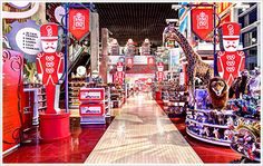 Come on in! Welcomed by a variety of extraordinary playthings in the Grand Hall that exceed your wildest dreams– amazing opportunities for fun can be found around every corner!