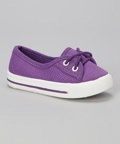 Look at this #zulilyfind! Purple Sneaker by Mine #zulilyfinds
