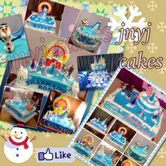 JnyJ (j-nee-j) cakes: frozen fever forever #frozen #olaf