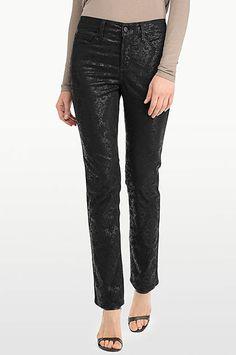 NYDJ Denim - NWT NYDJ Coated Sheri Skinny jeans Matte hematite ...