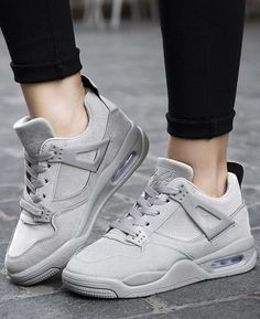 d63b72126427b Women Running Shoes Breathable Sport Shoes Sneaker Gray Air Max Sneakers, Sneakers  Nike, Pink