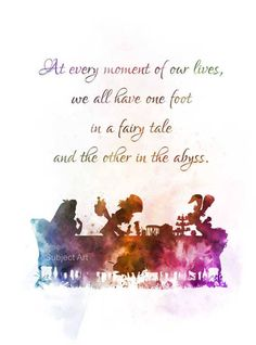 Alice In Wonderland Tea Party Quote ART PRINT by SubjectArt