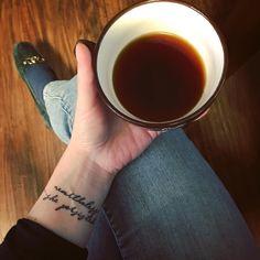 """36 Likes, 3 Comments - Néorurale par Cassiopée.D (@cassiopeed) on Instagram: """"Nevertheless she persisted [Malgré tout, elle a persisté] est fièrement tatoué sur mon bras! En…"""""""
