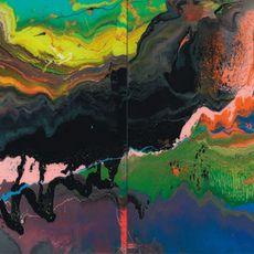 From EHC Fine Art, Gerhard Richter, Flow Diasec-mounted chromogenic print on aluminium composite panel, 39 × 78 in Prints For Sale, Large Prints, Famous Abstract Artists, Art Informel, Post War Era, Open Image, Caspar David Friedrich, Gerhard Richter, Visual Effects