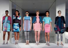 Chloe Cooper Fashion Knitwear Designer.  Nottingham Trent.