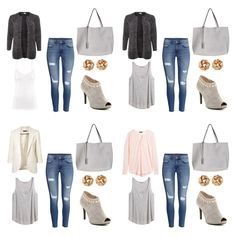 Collage, Polyvore, Closet, Image, Fashion, Clothing, Moda, Collages, Armoire