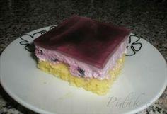 Zobrazit detail - Recept - Borůvkové piškotové řezy Cake, Food, Kuchen, Essen, Meals, Torte, Cookies, Yemek, Cheeseburger Paradise Pie