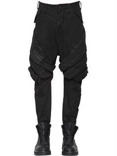 huge discount 84ab8 7982d julius - мужчины - брюки - брюки-карго из хлопкового стрейч деним Florencia