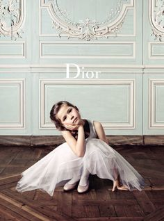 Campagne Dior enfant, hiver 2011