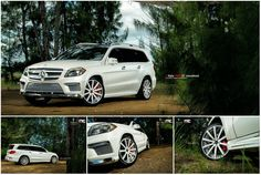 Mercedes Benz GL550 on Vellano Wheels