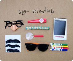 Top Secret Kit for goody bag