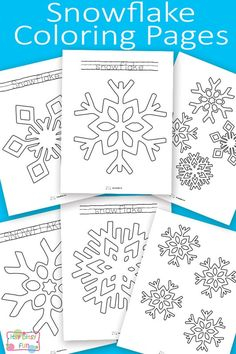 Snow Activities, Christmas Activities, Christmas Crafts, Snow Crafts, Sheep Crafts, Snowflake Coloring Pages, Colouring Pages, Coloring Book, Preschool Lessons