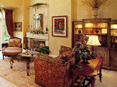 tuscan living room | Tuscan Living Room