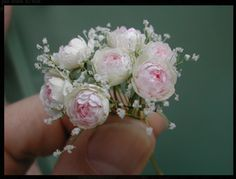 mini bouquet lily of the valley & roses