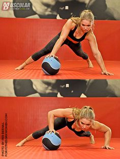 Upper body exercise in Muscular Development. #ArmbarNation See more at RondaRousey.net