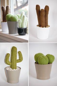 Los cactus de punto de Odds & Ends