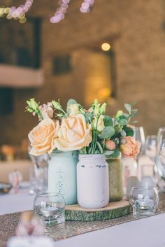 Wedding table flowers pastel colour 70 ideas for 2019 Spring Wedding Centerpieces, Wedding Table Flowers, Wedding Table Centerpieces, Flower Centerpieces, Wedding Colors, Wedding Decorations, Wedding Flower Packages, Rustic Wedding Venues, Wedding Church