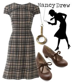 """""""Nancy Drew II"""" by liesle ❤ liked on Polyvore featuring Northside"""