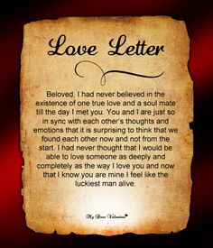 Love Letters for Him #14