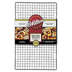 Wilton 0261401 Right Recipe Grille de Refroidissement Métal 16 x 10 42,9 x 28,02 x 2,06 cm