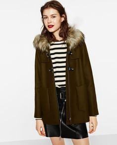 A-LINE DUFFLE COAT-Coats-OUTERWEAR-WOMAN-SALE   ZARA United States